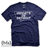 Importe de Detroit Navy White T-shirt
