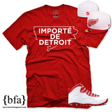Importe de Detroit - Red & White Limited Edition T-shirt