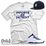 Importe de Detroit - White & Navy Limited Edition T-shirt