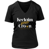 Reclaim Your Crown Women's V-Neck T-shirt