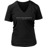 Tha Truth blackfokapparel Black Women's V-neck T-shirt