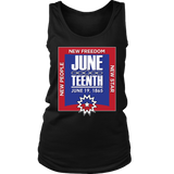 Juneteenth Womens Tanktop