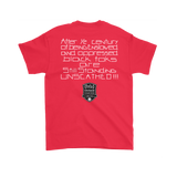 Tha Truth Blackfokapparel Red Unisex T-Shirt