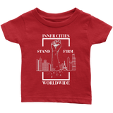 Stand Firm Original Infant Tshirt red