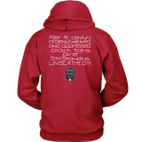 Tha Truth Blackfokapparel Red Unisex Hoodie