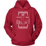 Stand Firm Original Hoodie Red
