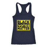 Black Votes Matter Womens Racerback Tanktop