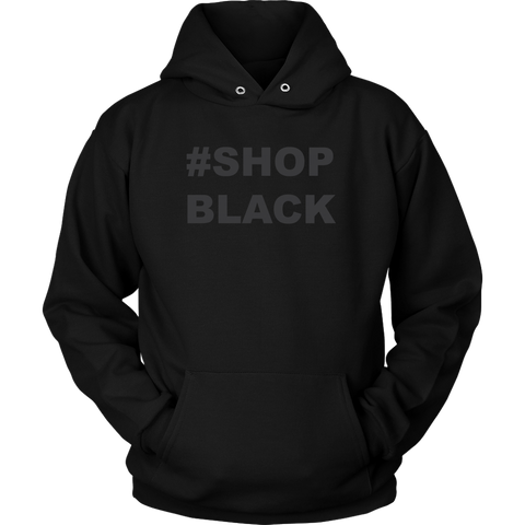 Shop Black Hooded Sweatshirt