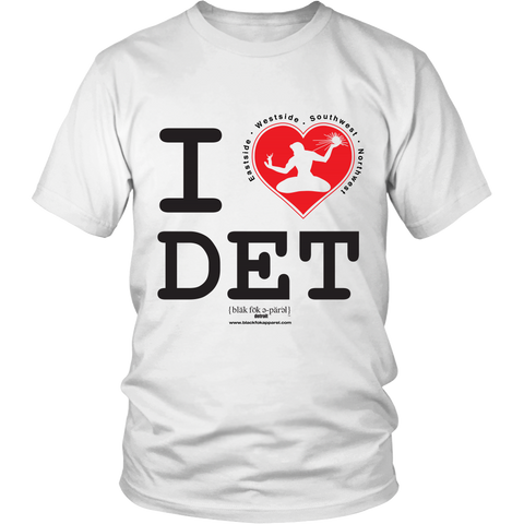 I Love Detroit T-Shirt