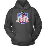 President Obama The Great American Hero Hooded Sweatshirt (Multiple Colors)