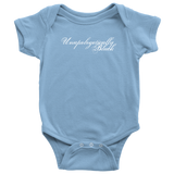 Unapologetically Black Baby Onesie Multiple Colors