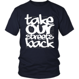 Take Our Streets Back T-Shirt Navy