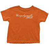 Unapologetically Black Toddler T-Shirt - Multiple Colors