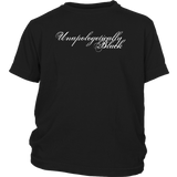Unapologetically Black Youth T-shirt-Multiple Colors