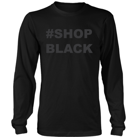 Shop Black Long Sleeved T-Shirt
