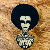 super soul sis blackfokapparel soft enamel pin pack