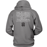 Tha Truth Blackfokapparel Grey Unisex Hoodie