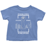 Stand Firm Original Toddler Tshirt blue