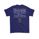 Tha Truth Blackfokapparel Purple Unisex T-Shirt
