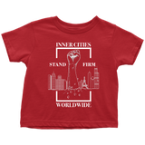 Stand Firm Original Toddler Tshirt Red