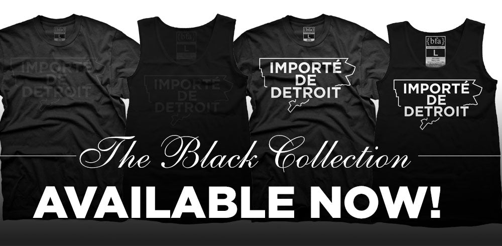 Importe de Detroit Black Collection