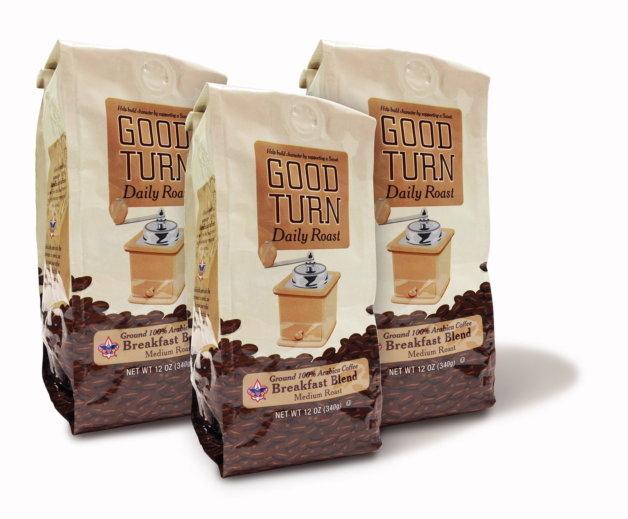 Good Turn Daily Breakfast Blend 136 Bags