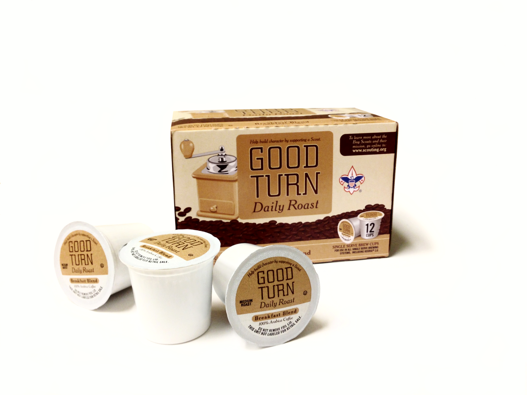 Good Turn Daily K-Cups (36 ct)