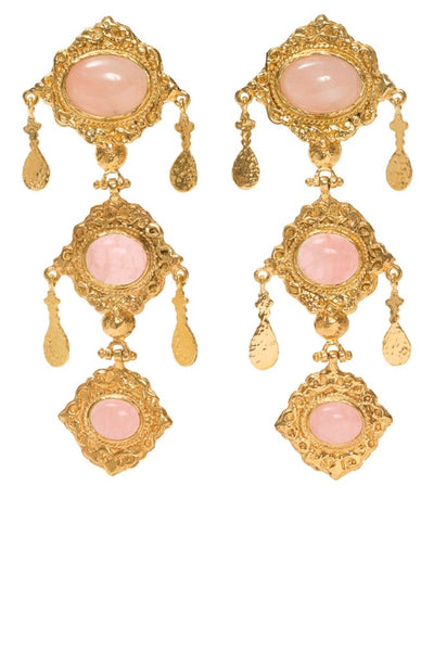 Christie Nicolaides Anais Earrings Pink