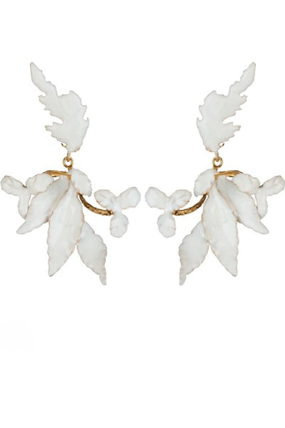 Hire christie nicolaides flor earrings