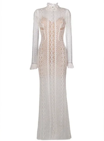 Ermanno Scervino embroidered tulle dress