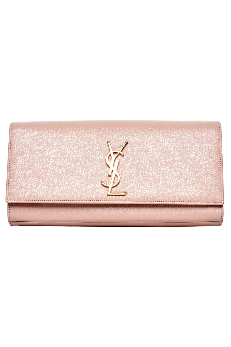 dfdadcb953a Yves Saint Laurent - YSL Pink Clutch | All The Dresses