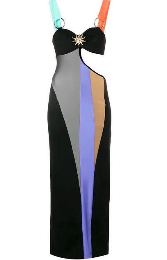 Cutout pencil dress