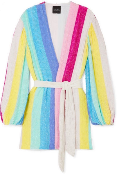 Gabrielle Robe Dress - Multi