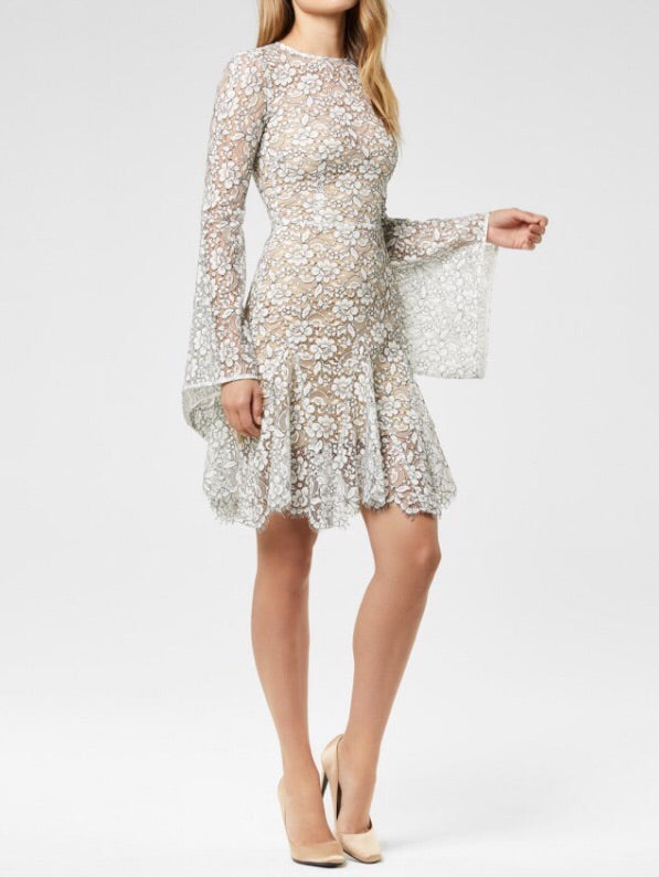 Cord Lace Mannon Dress