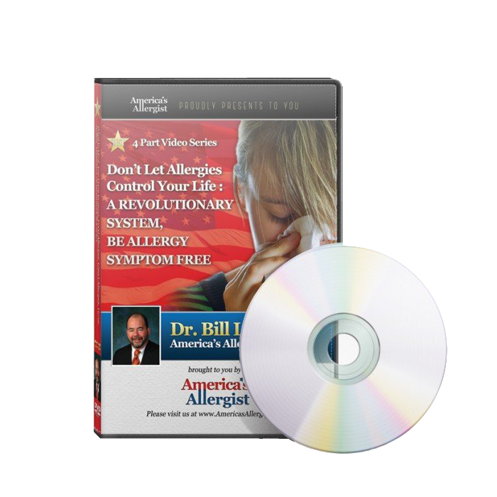 4 DVD SET- Don't Let Allergies Control Your Life: A Revolutionary New System, Be Allergy Symptom Free $49.99
