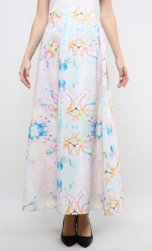 FAIRYTALE FORESTS MAXI SKIRT