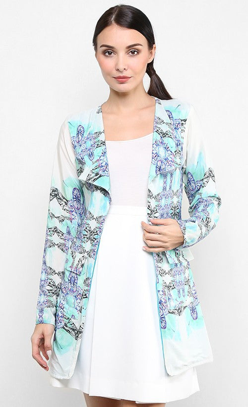 HIDDEN TREASURES OVERSIZED BLAZER