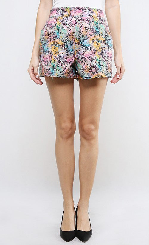 TROPICAL ROOTS SHORTS