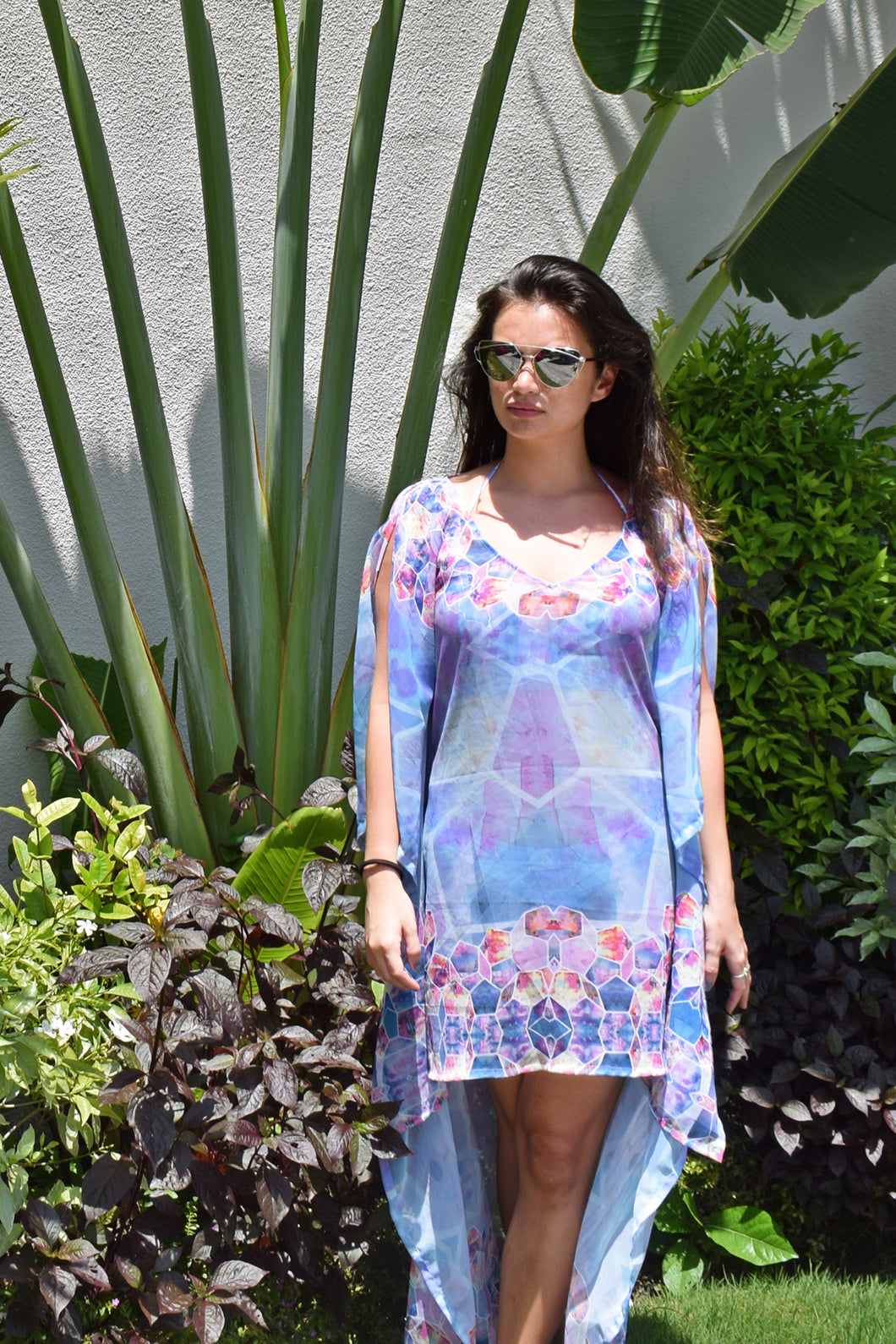 Hexagana High Low Kaftan