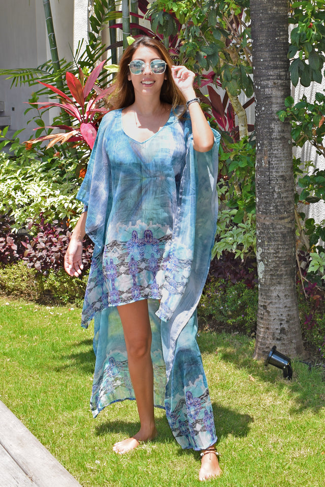 Ora High Low Kaftan