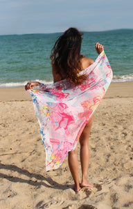 FAIRYTALE FORESTS BEACH SCARF