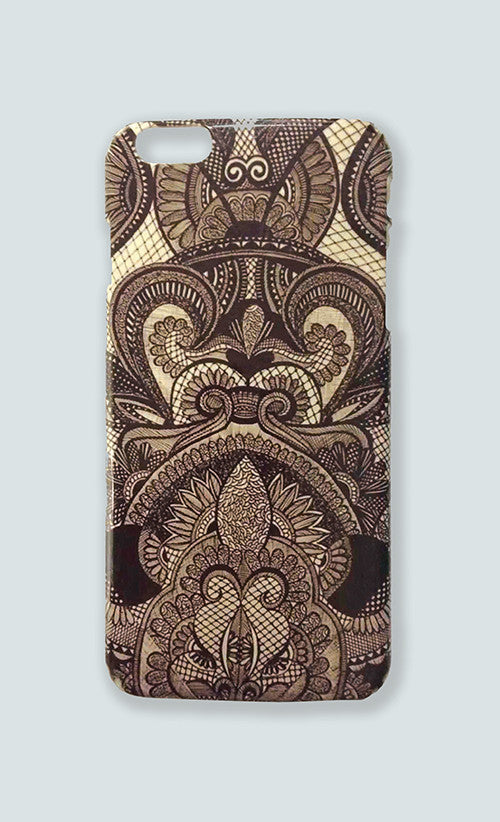 IPHONE 6 PLUS ZENTANGLIN' CASE