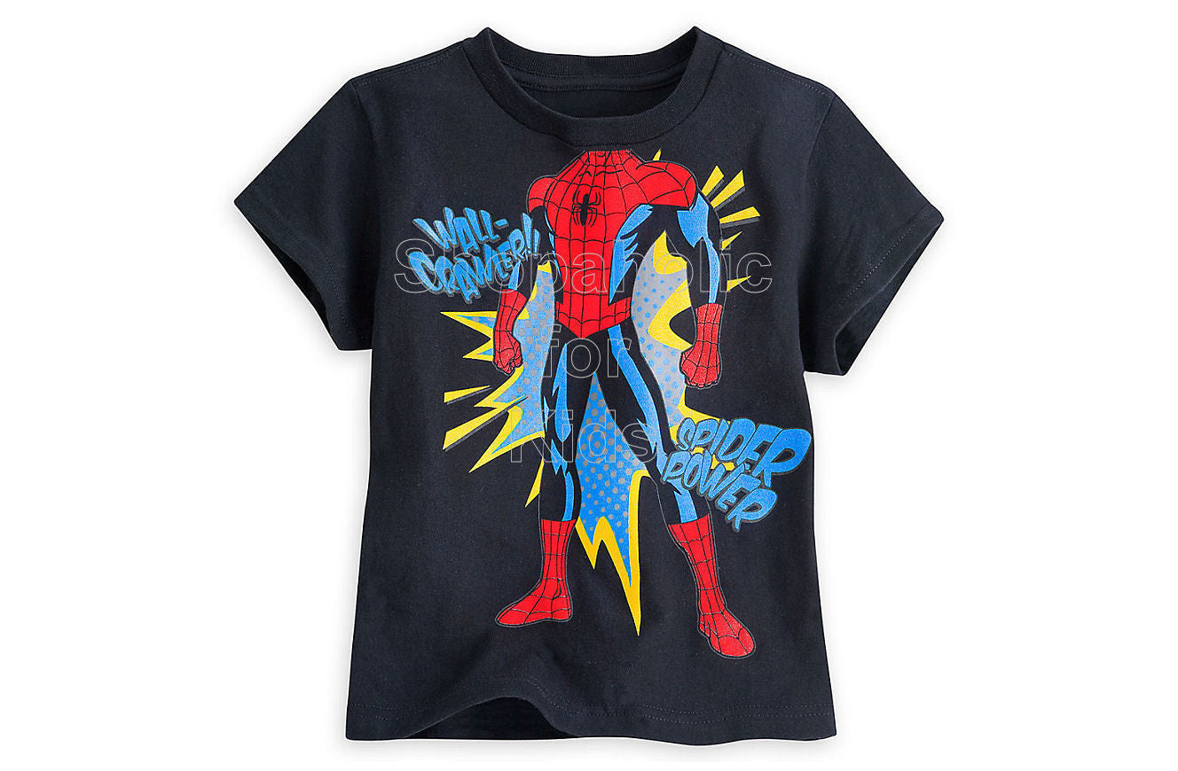 Spider-Man Comics Tee for Boys - Shopaholic for Kids