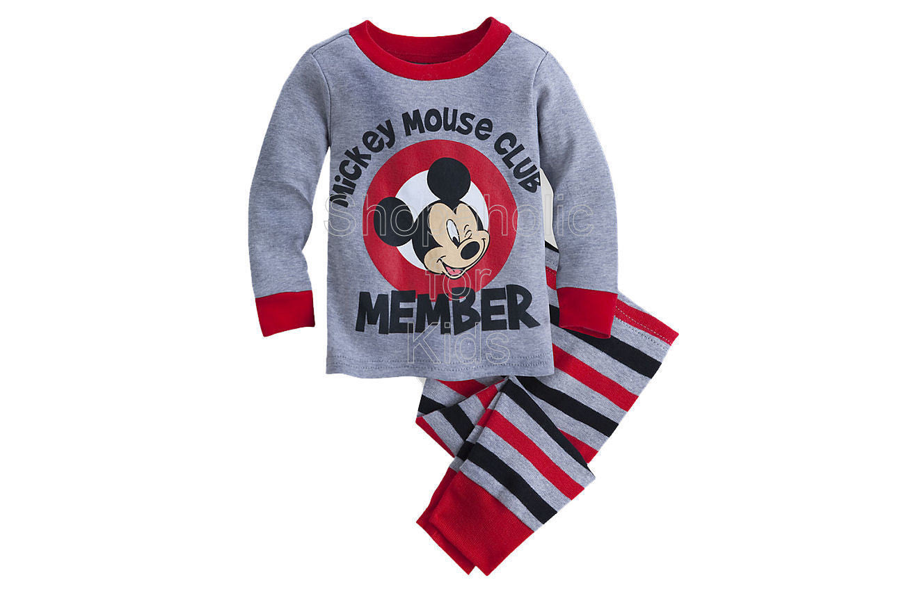 Mickey Mouse Club Pajama - Shopaholic for Kids