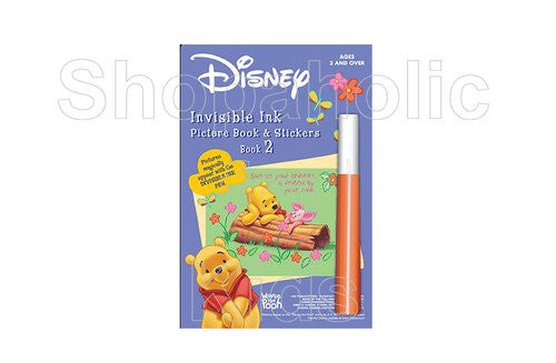 Invisible Ink Picture Book & Stickers Disney's Winnie the Pooh Book 2 - Shopaholic for Kids