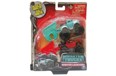 Monster Trucks Monster Launchers - Blue & Red - SALE - Damaged Packaging