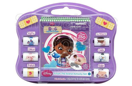 Doc McStuffins Finish the Scene Sticker Activity Set - Shopaholic for Kids