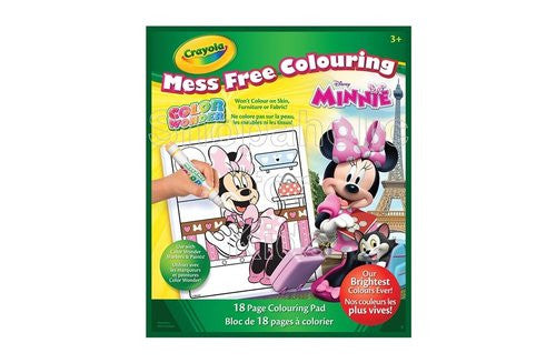 Crayola Color Wonder Coloring Pad, Minnie Mouse - Shopaholic for Kids