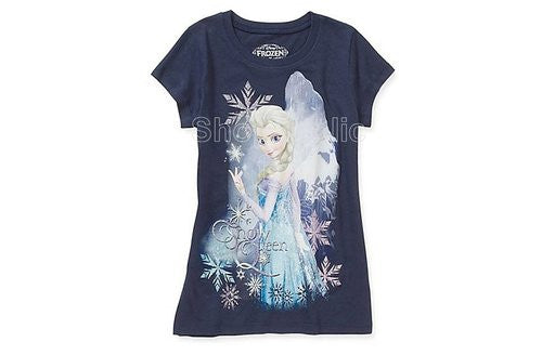 Disney Frozen Snow Flake Snow Queen Tee - Shopaholic for Kids