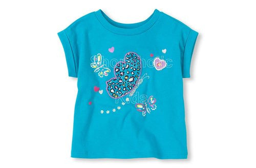 Children's Place  Embellished Graphic Active Tee  - Surf Dream - Shopaholic for Kids